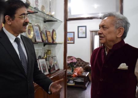 Dr. Lalit Khaitan With Sandeep Marwah