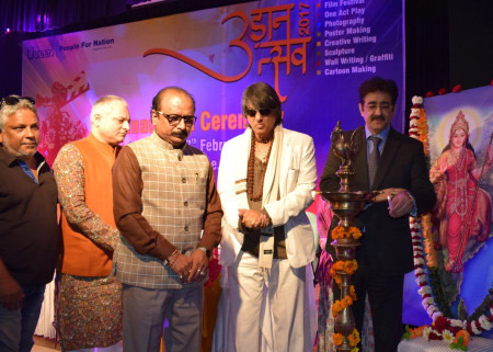 Sandeep Marwah Inaugurating Udaan Festival